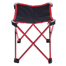 Folding Four legged Triangular Waterproof PVC Oxford Fabric Fishing Chair Stool Black Maximum weight 130kg For Outdoor Camping