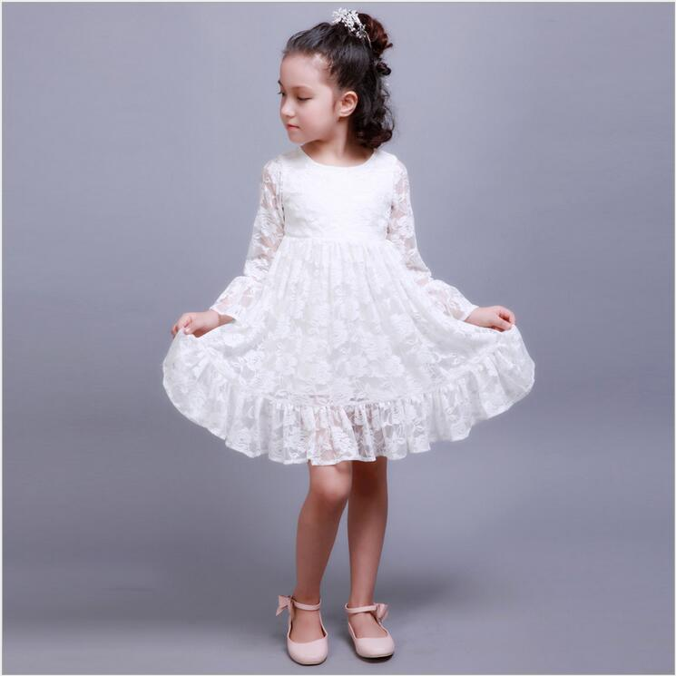 все цены на A-Line Flower Girl Dresses for Weddings Sleeveless Lilac Girl Dresses With Lace White Mother Daughter Dresses for Little Girl