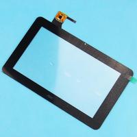 Black Color Free Shipping 7 Inch Tablet PC Capacitive Touch Screen Handwritten Screen Glass Digitizer For