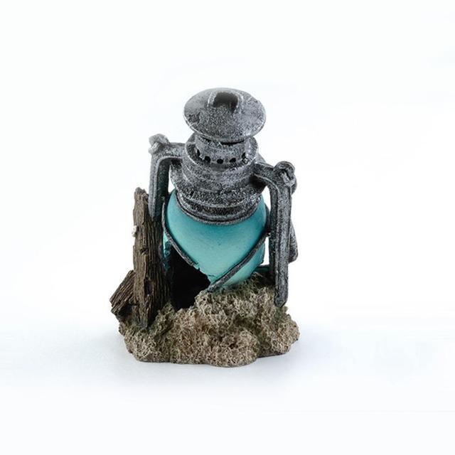Aquarium Fish Tank Lantern Wreckage Landscape Decoration 4