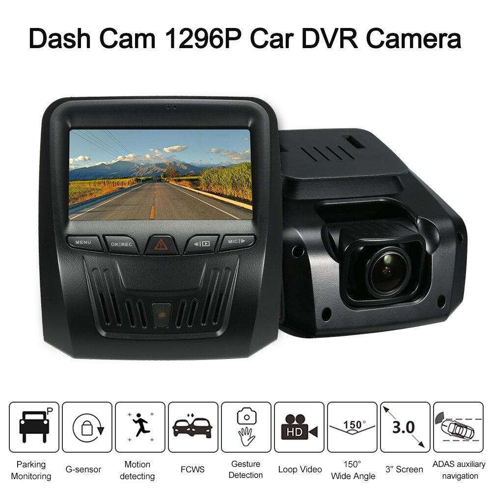 KKMOON 3 Dash Cam 1296P Car DVR Camera Gesture Recognition / FCWS / LDWS / Parking Monitor / Motion Detection Car recorder towards chereme based dynamic sign language gesture recognition system