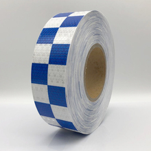 5cmx50m High Quality Visibility Safety Honeycomb Adhesive Reflective Tape