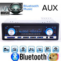 Reproductor de Radio Estéreo Bluetooth Del Teléfono del coche AUX-IN MP3 FM/USB/1 Din/control remoto Para 12 V Audio del coche Auto 2015 Venta Nuevo