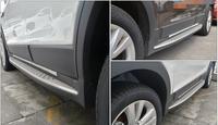 New Aluminum for Chevrolet Holden Captiva 2008 2015 2016 running board side step Nerf bar good quality