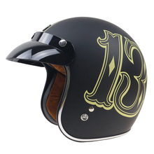 Фирменная Новинка Винтаж шлем TORC Ретро мотоциклетный шлем для Измельчитель велосипеды для Harley велосипеды мотоциклетный шлем