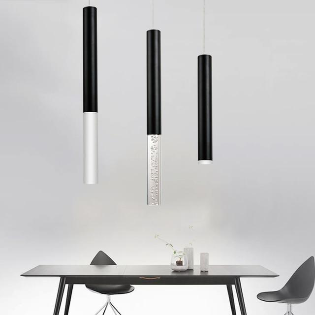 Led Anhänger Lampe zylinder licht Küche Insel Esszimmer Shop Bar ...