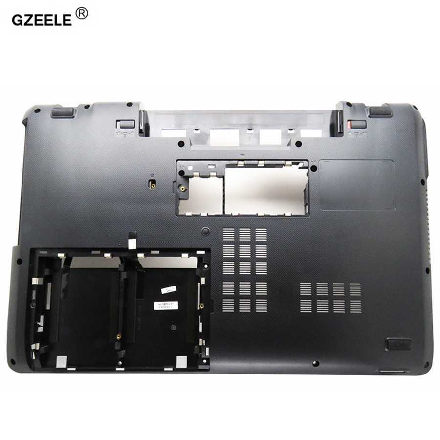 GZEELE ноутбук Нижняя чехол для ASUS K73 K73BY K73T X73 AP0J2000600 Базовое покрытие платы нижний кожух D чехол для ноутбука черный