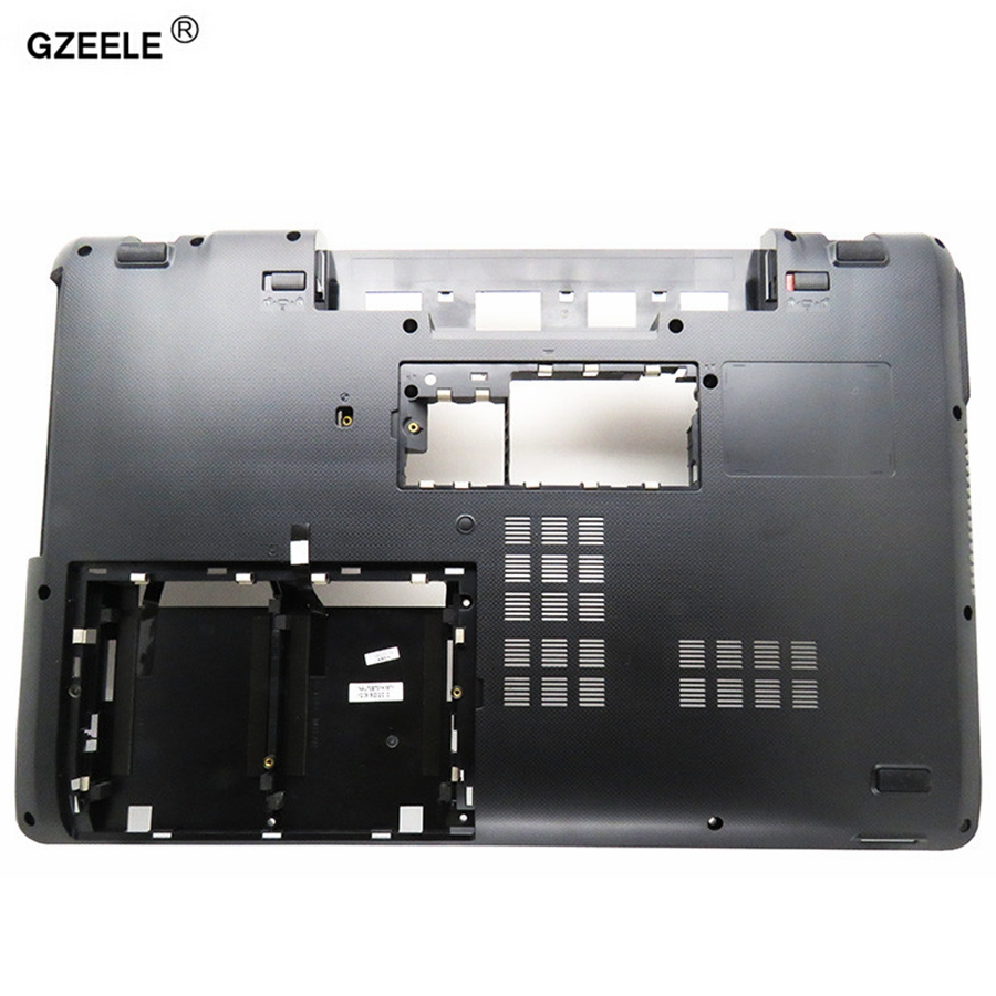 GZEELE Laptop Bottom Case FOR ASUS K73 K73BY K73T X73 AP0J2000600 Base Cover MainBoard Bottom Casing D case Laptop case black