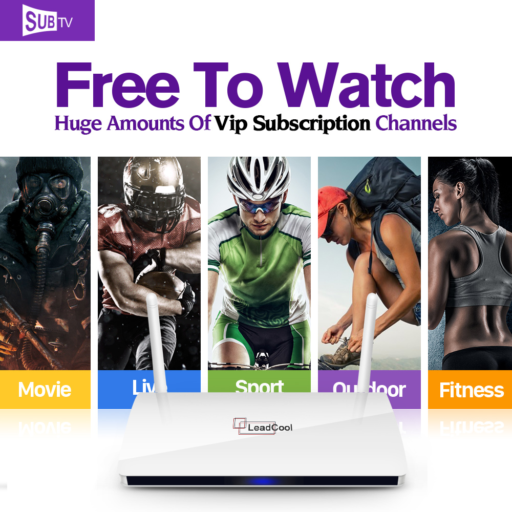 Smart HD STB Android tv Box IPTV Media Player with Arabic French 3500+Live Europe IPTV Subscription 1 year Italy UK Set Top Box цена 2016
