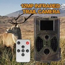 Hot 12MP Cámaras de Caza Scouting Cámara del Rastro Infrarrojo HC-300A Digital Fauna Juego Cámaras Trampa NO Glow Night Vision