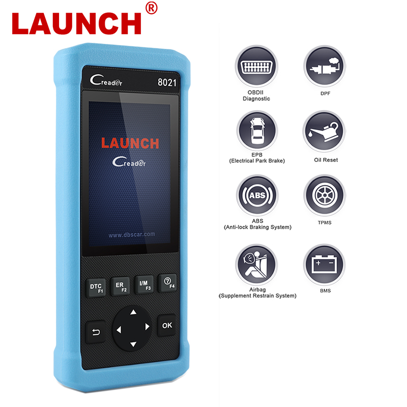 Launch CR8021 OBD2 Diagnostic Tool Oil Service BMS EPB ABS SRS Reset Check Full OBD2 Auto Scanner Maxicheck ODB Diagnosis стоимость
