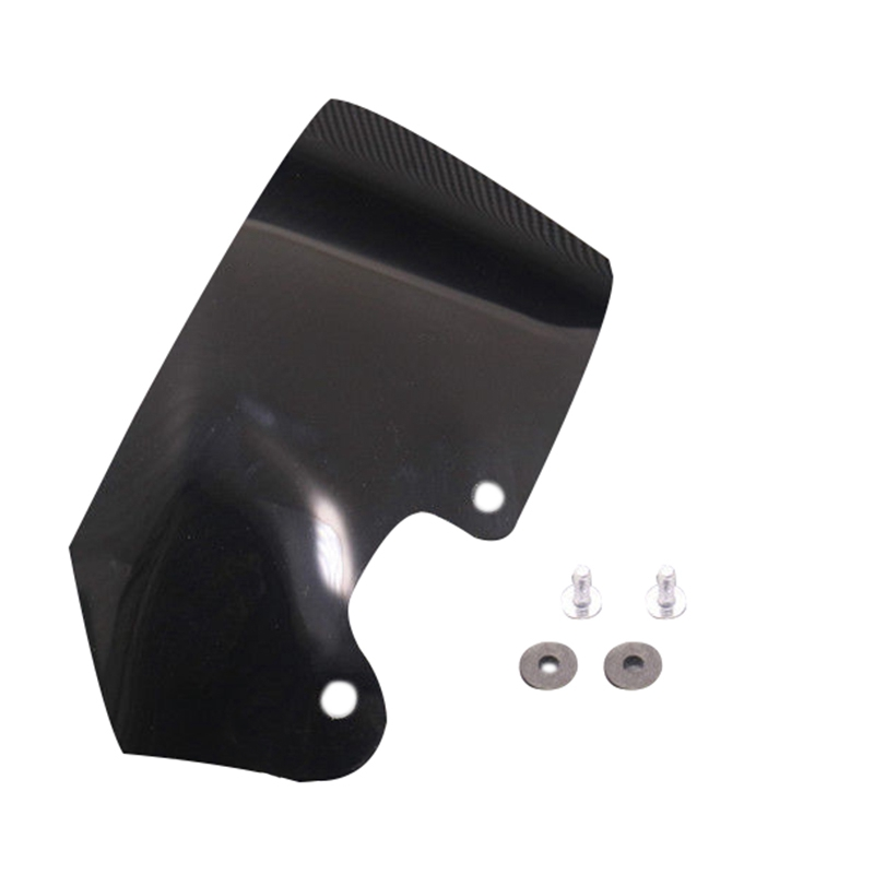 Windshield Side Wind Screen Air Flow Deflector Wind Cowl For Bmw R1200Gs 04-12(Black)(China)