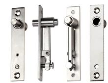 цена на hot sell up and down the shaft stainless steel door hinge pivot hinge 130mmx25mm 360 degree