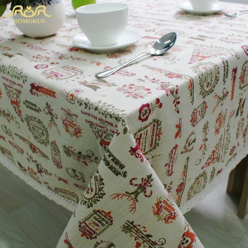 Online get cheap lace christmas tablecloths aliexpress - Manteles para navidad ...