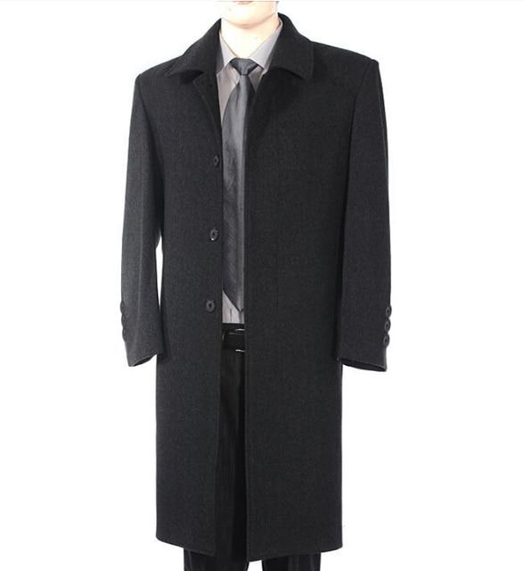 2017 nova mens trench coats alta qualidade fino moda casual longo trench coat jaqueta masculina dos homens casaco homens plus size 5XL