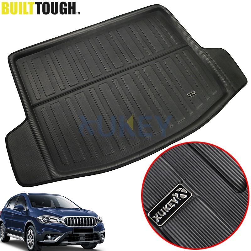 For Suzuki NEW SX4 S-Cross Crossover 2014 2015 2016 2017 2018 Rear Cargo Mat Floor Boot Liner Trunk Tray Carpet Protector Pad