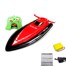 Real Boats Huanqi 40cm Big Size 2.4g Rc Boat For Children Electric Motorboat 4ch Model Ship Remote Control Speedboat Toys