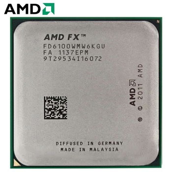 AMD FX 6100 CPU 3.3 GHz Six-Core FX-Series Processor FD6100WMW6KGU Socket AM3+ Procesador 1