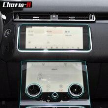 Anti Scratch Clear Transparent Film Console Panel Protective Vinyl Wrap Sticker for Land Rover Range Velar 2017 Interior
