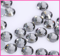 SS6,SS8,SS10,SS16,SS20,SS30 Top Quality Black Diamond DMC Flatback Crystals Hot Fix Rhinestones,Garment Accessories Gray Glue
