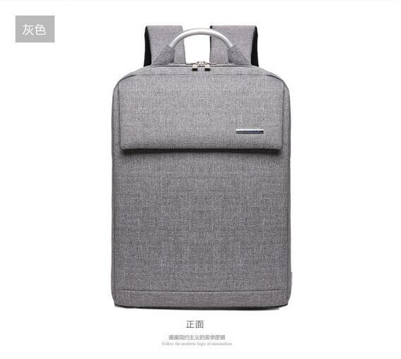 Buy Hot Selling Brand Laptop Backpack Men's Travel Bags 2017 Multifunction Canvas Black Gray Blue School Backpacks