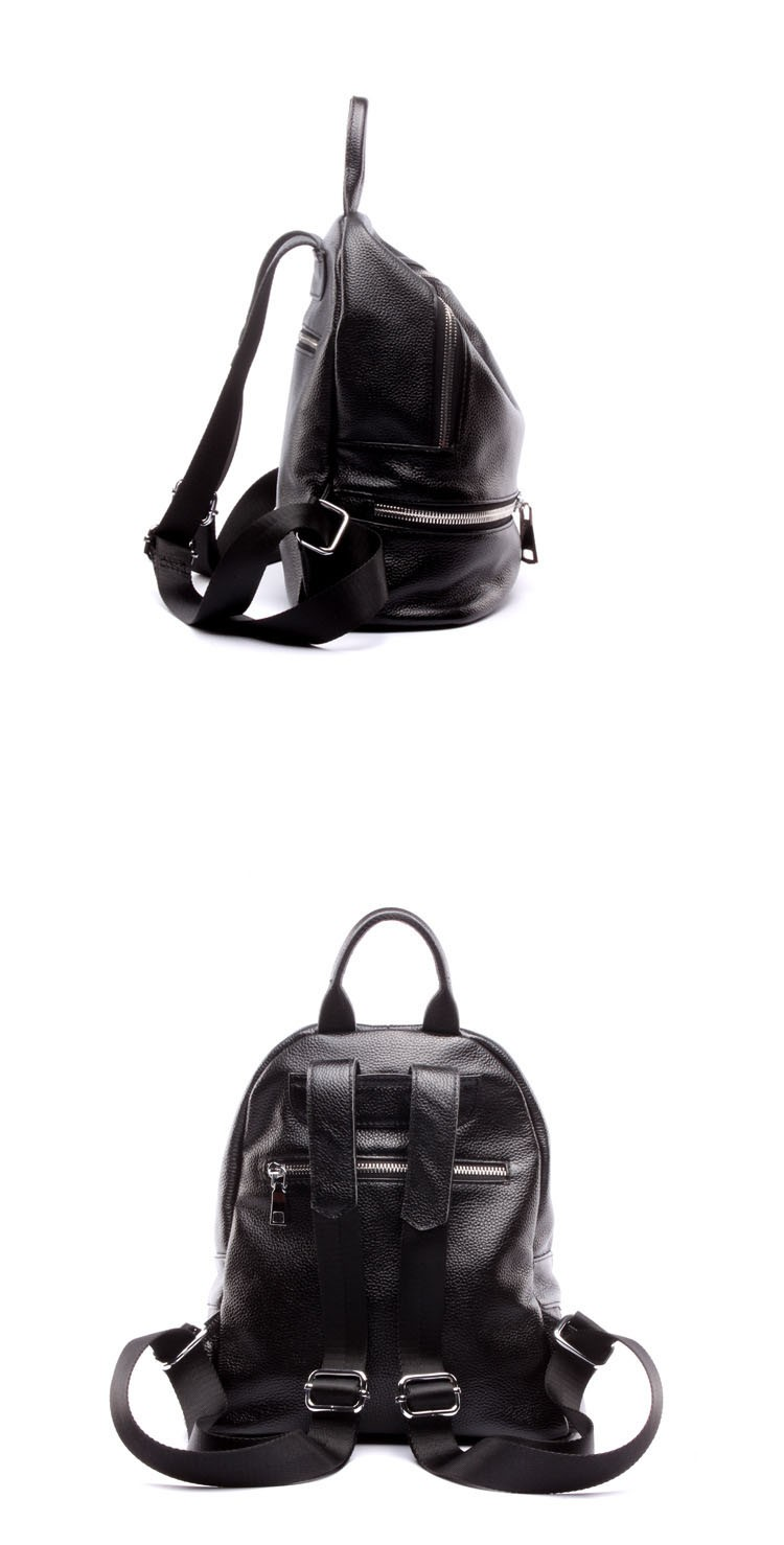 women genuine leather backapck 12