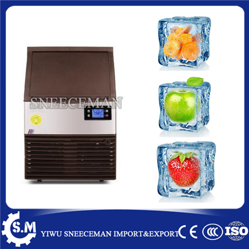 daily output 28kg commercial small instant tube square ice maker commercial ice maker maker   - title=