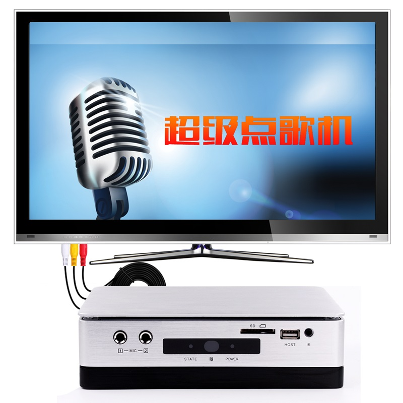 GymSong HD-Hynudal Home KTV Karaoke System Machine Hard Drive Karaoke player 2TB HDD 42K ...