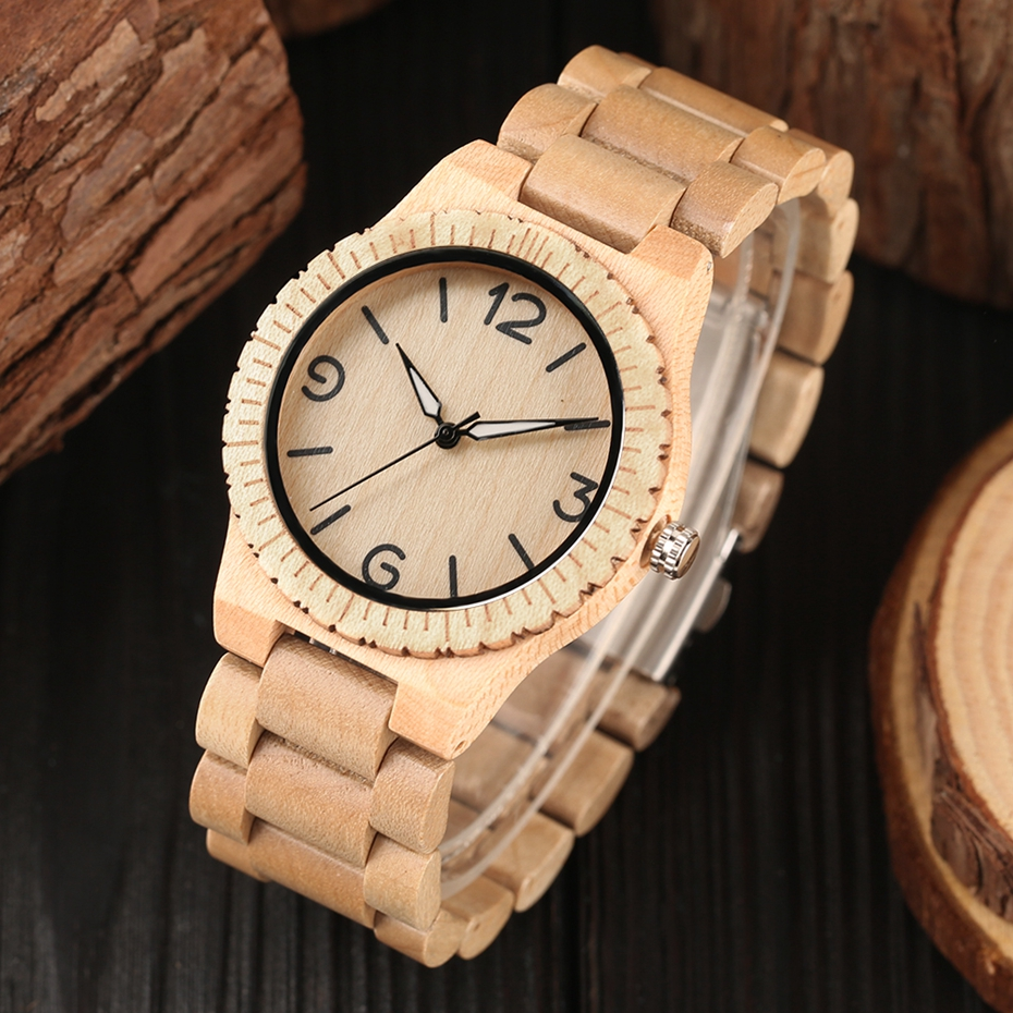 Minimalist Retro Full Wooden Watches Women Men Bamboo Wood Bracelet Fashion Creative Quartz Wristwatch Handmade Gifts Clock Hour 2018 (32)