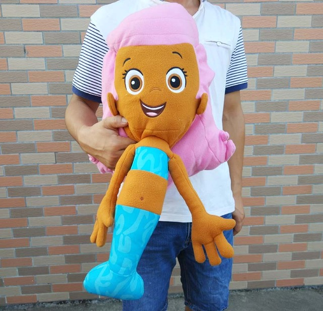 US $23 74 8% OFF RARE New Nickelodeon BUBBLE GUPPIES Molly the Mermaid  Giant Plush Toy-in Movies & TV from Toys & Hobbies on Aliexpress com    Alibaba
