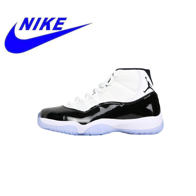 56dc9104907d17 High Quality Nike Air Jordan 11 Concord Men s and Women s Models Running  Shoes Sneakers New Outdoor Shoes Non - Slip 378037 100