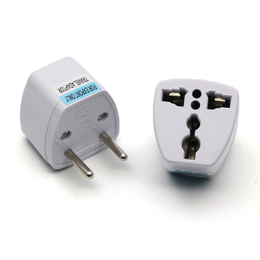 xintylink 2pcs 110v 220v two round pin plug power socket adapter rh aliexpress com