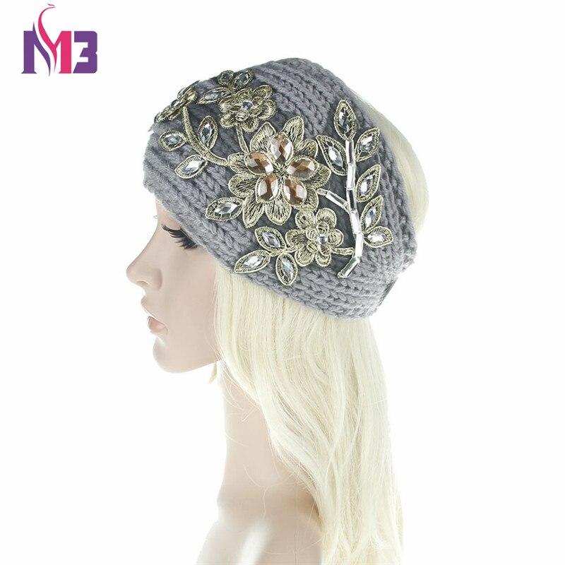 Su persona tiene que asegurarse sobre que antes de comprar un Amplia tejer lana  diadema invierno del oído caliente Crochet turbante accesorios para el ... e8ae876af6c
