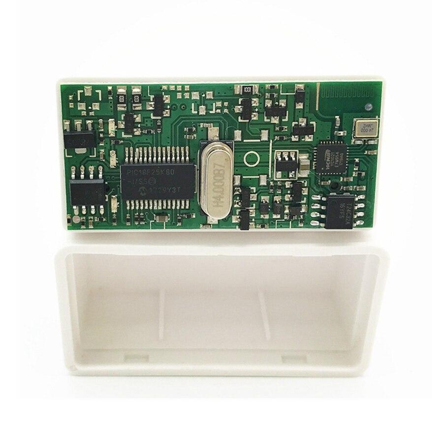 OBDII ELM327 V1.5 Bluetooth PIC18F25K80 работает мульти-автомобили дизель поддерживает протоколы J1850 ELM 327 V1.5 для Android беспроводной