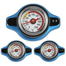 Большая головка 0.9Bar/1.1Bar/1.3Bar гоночный датчик температуры Автомобильный термометр крышка радиатора крышка температура воды метр