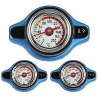 Grande tête 0.9Bar/1.1Bar/1.3Bar course jauge de température voiture thermomètre capuchon de radiateur couvercle compteur de température de l'eau
