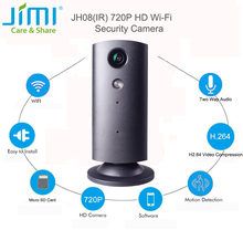Jimi JH08(Black,IR) IP Camera WIFI HD 720P Home Security Surveillance P2P Phone Remote 1.0MP Wireless Video Surveillance Camera