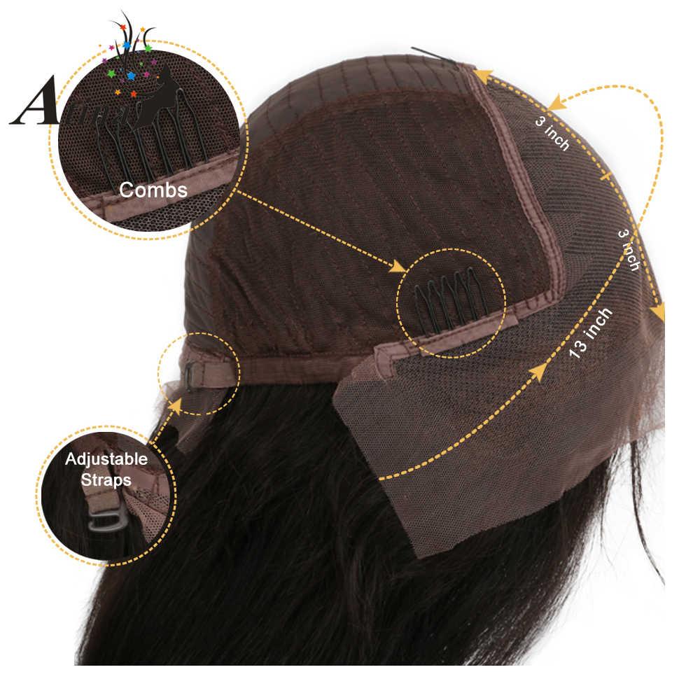 13X6 глубокий часть вьющиеся Синтетические волосы на кружеве парик человеческих волос 180% Плотность короткие бразильский Реми волос Боб парик мокрой И Волнистые для Для женщин срывать