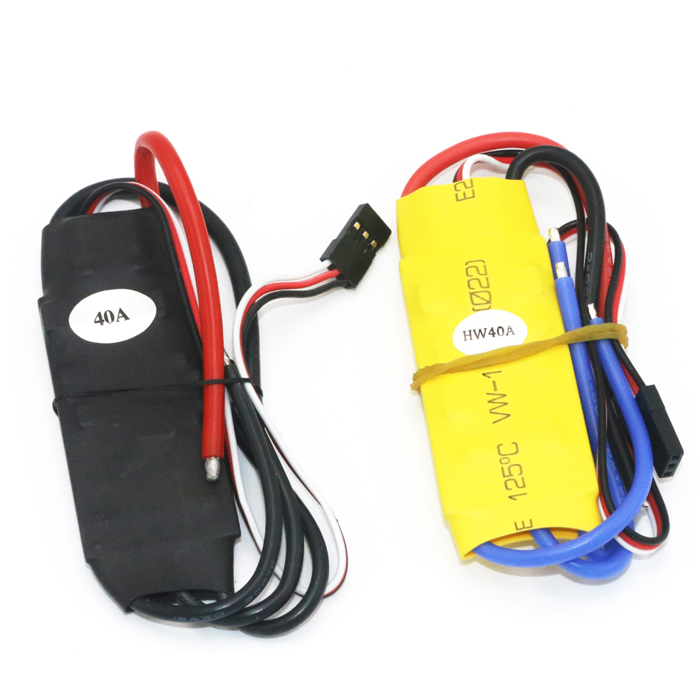 1 unids xxd 40A ESC brushless Speed Controller motor RC ubec 4A 50A