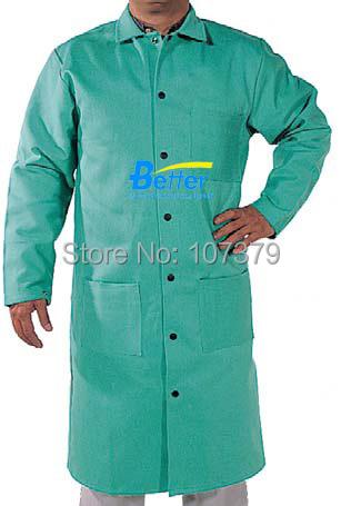 Fr clothing ropa fr clothing fr bata de algodón retardante de llama de soldadura soldadura ropa de algodón fr