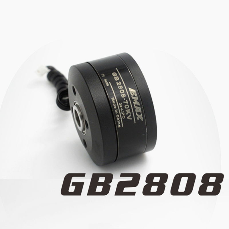 Emax gimbal <font><b>Brushless</b></font> <font><b>Motor</b></font> GB2808 <font><b>70KV</b></font> for Multi-rotor drone camera gimbal RC helicopter accessories image