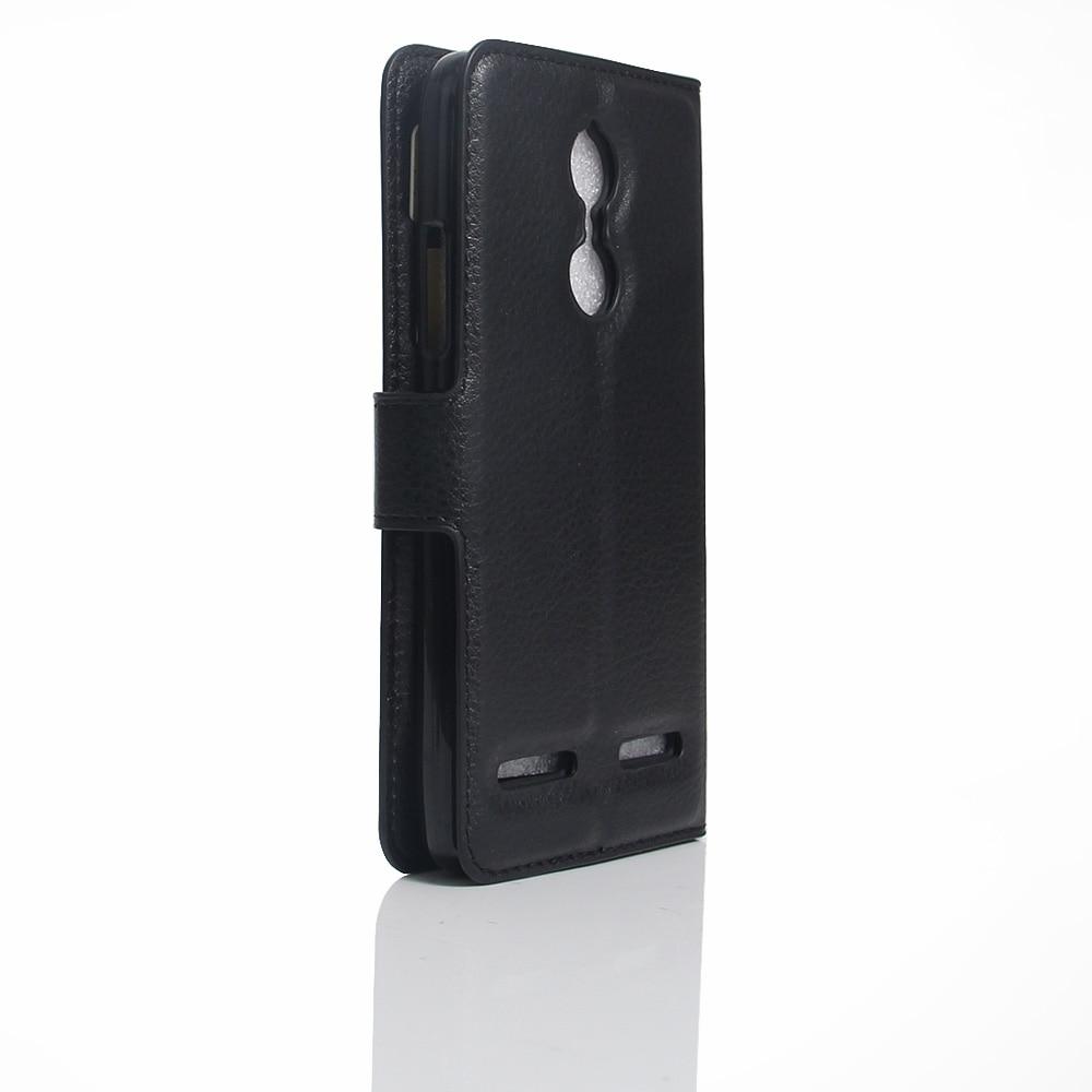 Lenovo K6 Väska 5,0 tums lyxig PU-läder bakomslag för Lenovo K6 - Reservdelar och tillbehör för mobiltelefoner - Foto 4