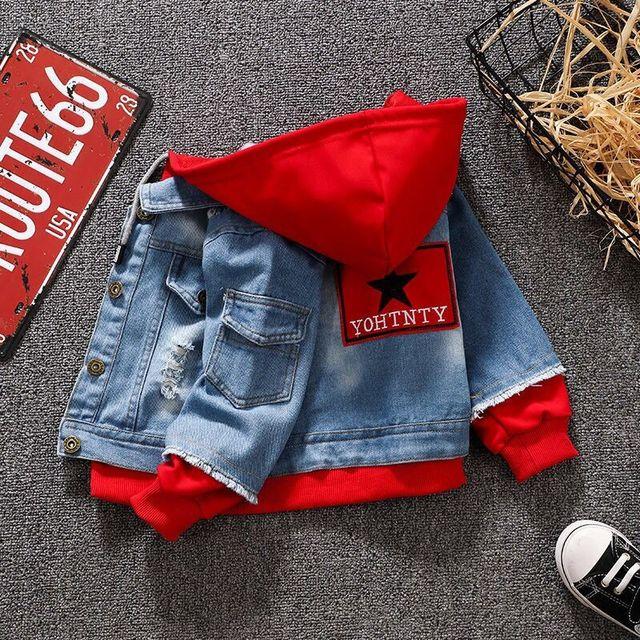 Veste en jean pour filles