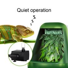11X27 см ABS Автоматический рептилий питьевой фильтр для воды питье поилки инструменты питьевой воды фонтан ящерица Хамелеон амфибия