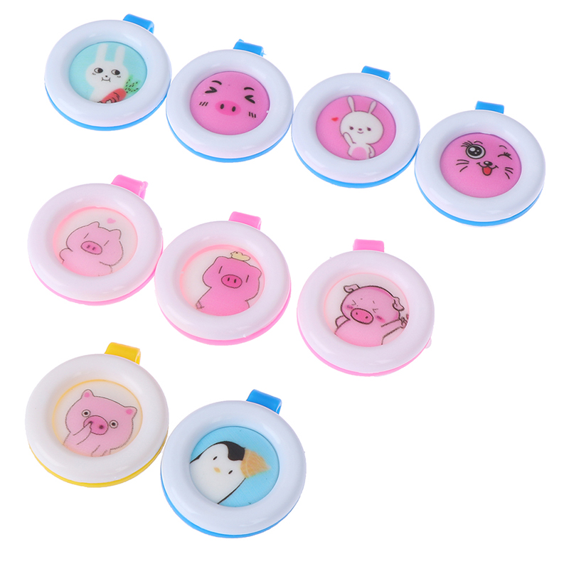 Mosquito Repellent Bracelets Buttons Mini Lightweight Cute Shape Driving Mosquito Baby Children Sleeping Skin Care