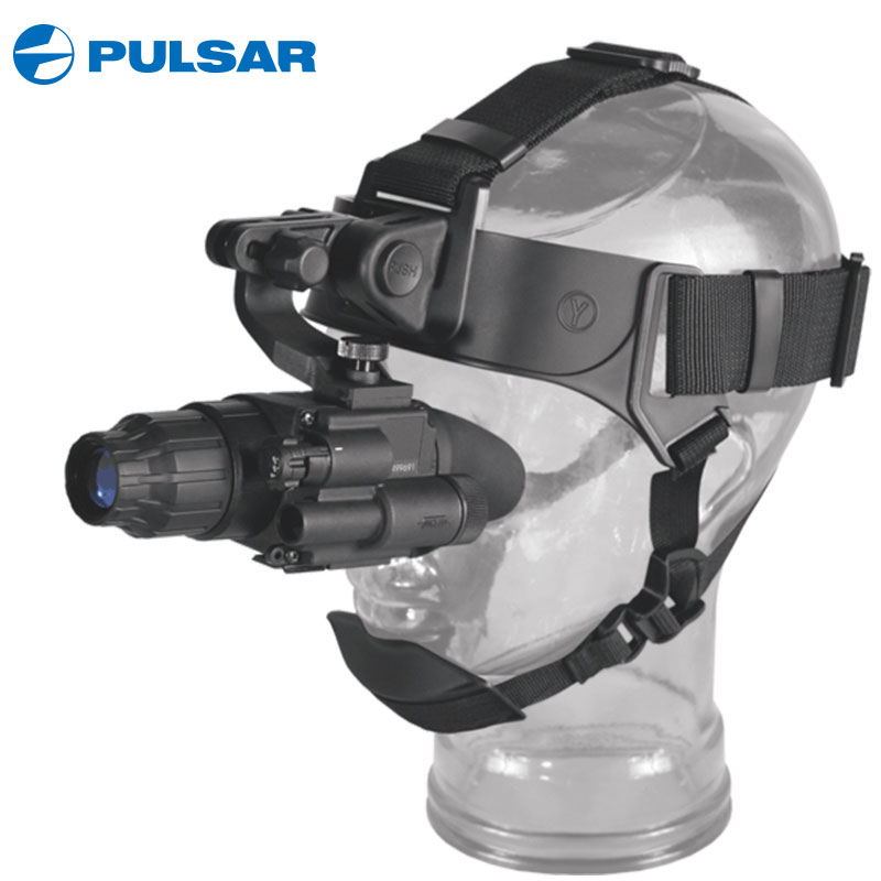 Pulsar Night Vision Goggles 74099 GS 1x20 Tactical Hunting Night Vision Monocular Infrared Glasses With Helmet