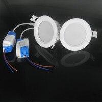 Runde Wasserdichte IP65 DC12V 5 Watt 7 Watt 9 watt FÜHRTE hinunter licht hohe qualität SMD 5630/5730 LED downlight Free verschiffen