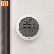 Oryginalny Xiao mi LCD ekran cyfrowy termometr mi jia Bluetooth temperatura inteligentny Hu mi dity czujnik wilgotności mi aplikacja domowa