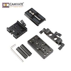 Image 5 - CAMVATE クイックリリースマウントベース Qr プレートマンフロット標準付属品 C1437 カメラの撮影アクセサリー