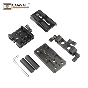 Image 5 - CAMVATE Quick Release Mount Base QR Plate for Manfrotto Standard Accessory C1437 camera photography accessories